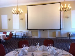 big screens for indoor events to hire