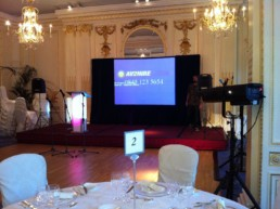 projector and screen to hire