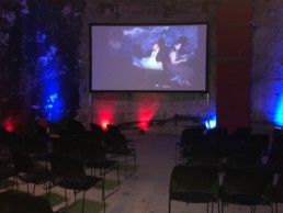 projector and screens to hire