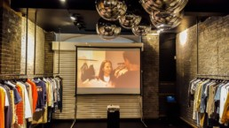projector plus screen to hire london